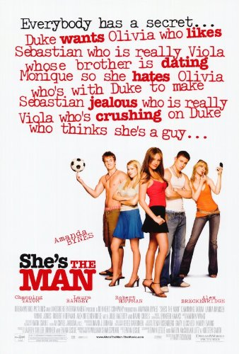 She's the Man 27 x 40 Movie Poster - Style A