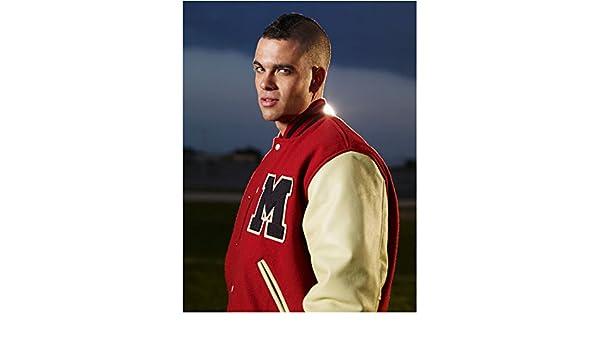 Adult Teen TV Glee Puck Football Player Jacket Costume