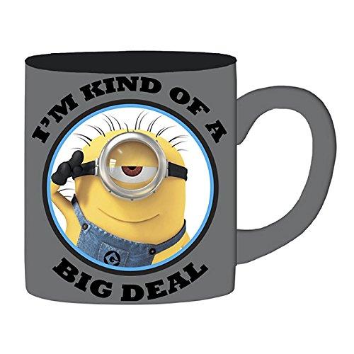 Silver Buffalo DM112934 Universal Minion Big Deal Jumbo Ceramic Mug, 20 oz, Multicolor -