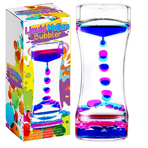 YUE MOTION Liquid Bubbler Visual Sensory Timer, 2 Minute - New Big