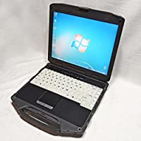 Itronix Corp General Dynamics GD8000 Rugged Laptop Core 2 1.86GHz 2GB RAM No HDD