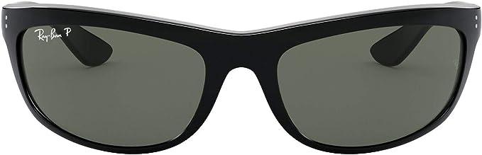 Ray-Ban Balorama Gafas de sol, Black, 61 para Hombre: Amazon.es ...