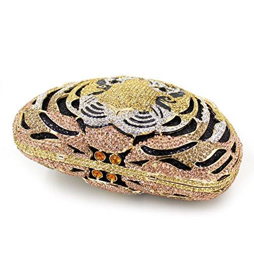 Chirrupy Chief - Cartera de mano para mujer dorado