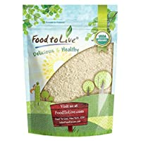 Food to Live Organic Millet Flour (Non-GMO, Stone Ground, Unbleached, Unbromated...