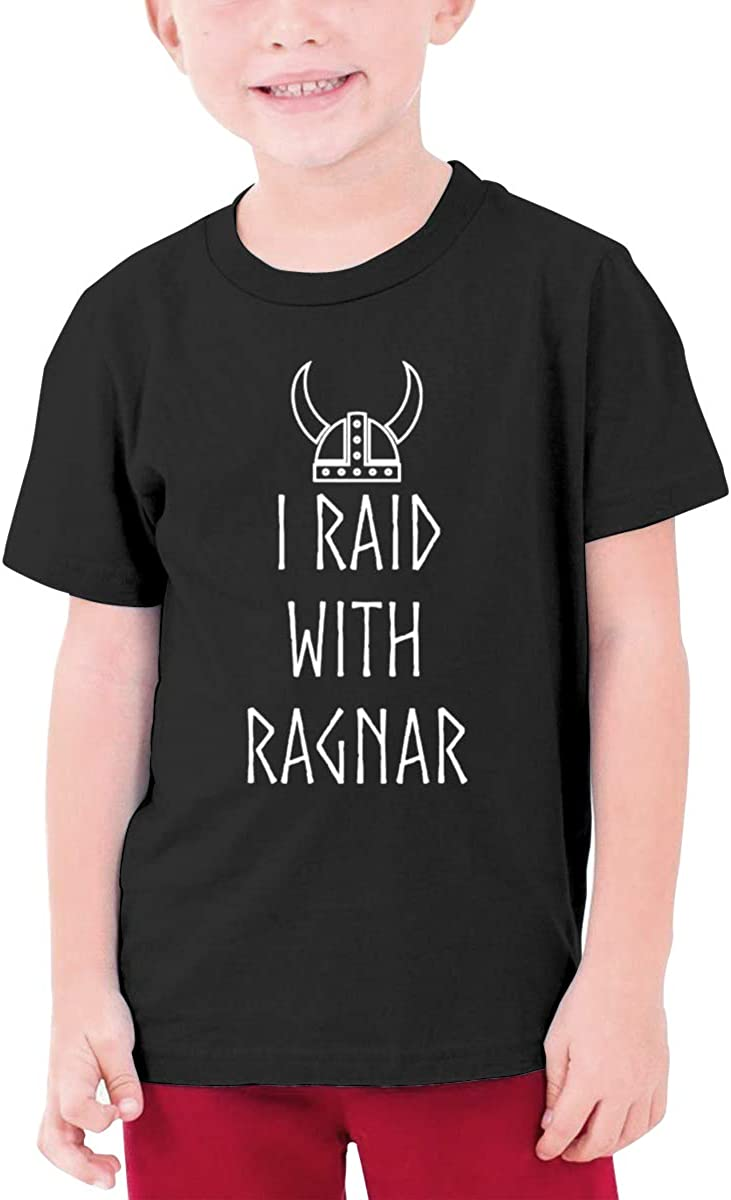 Negi I Raid with Ragnar Boys Short Sleeve T-Shirts