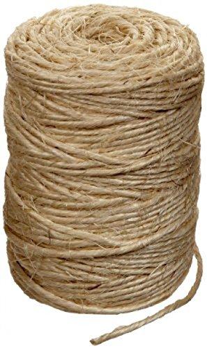 Rope Natural Fibers Sisal Twine 300 feet ST-300 (Decorative Deck Fringe)