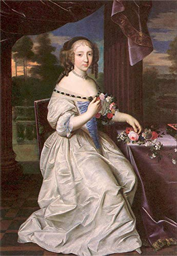 Pierre Mignard Portrait of a Young Lady 1680-30