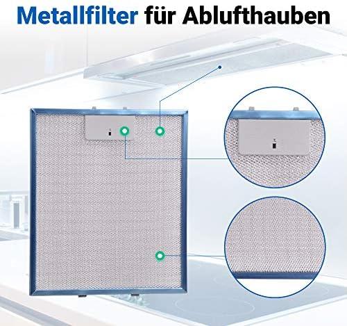 Dunstabzugshaube Metallfettfilter für Whirlpool Generation2000 G2P CHY//SS