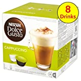 Nescafe Dolce Gusto Cappuccino 16 Capsules - Pack of 3 (Total 48 Capsules, 24 Servings) Bild 6