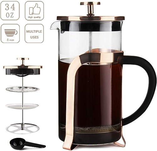 French Press Coffee Maker 34OZ