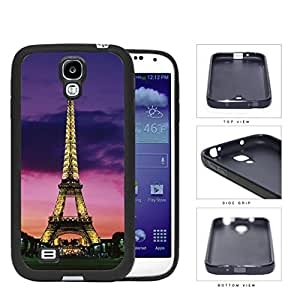 Paris France Eiffel Tower At Night Rubber Silicone TPU Cell Phone Case Samsung Galaxy S4 SIV I9500