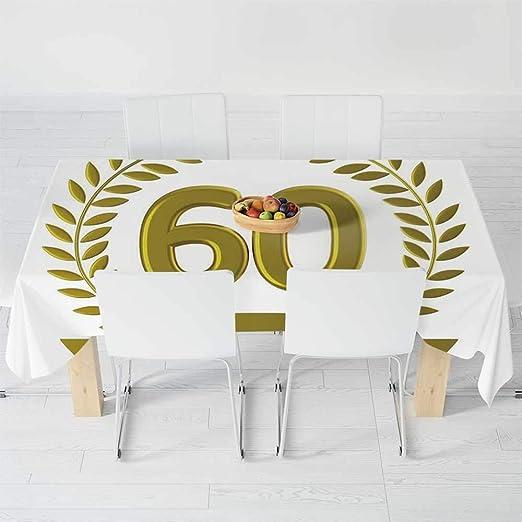 Mantel de Moda, decoración de 60 cumpleaños, para Mesa ...