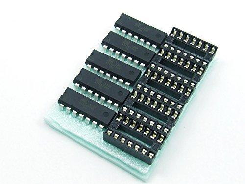 5 x ATTINY84A-PU con//with DIP MCU ATMEL AVR compatibile Arduino Arduino compatible #A346 Pezzi pcs