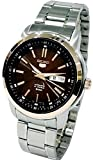 Seiko Men's SNKM90K1 Seiko 5 Automatic Silver-Toned Stainless-Steel Bracelet Watch