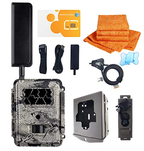 Spartan GoCam Deluxe Package Deal (AT&T 4G/LTE, Blackout Infrared) 2-Year Warranty