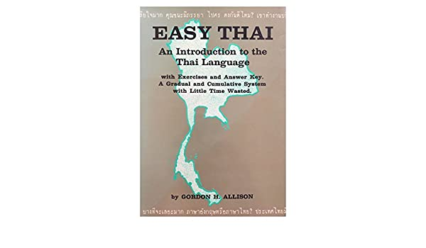 Easy Thai An Introduction to the Thai Language
