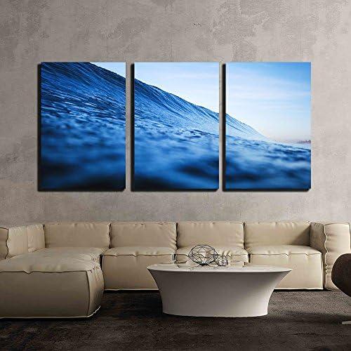 Closeup of The Blue Ocean x3 Panels
