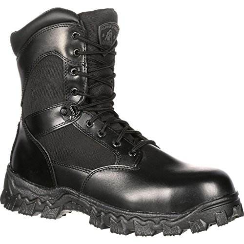 (Rocky Duty Men's Alpha Force 8