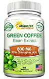 100% Pure Green Coffee Bean Extract - 180 Capsules - Max Strength...