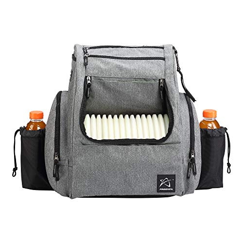 Prodigy Disc BP-2 Backpack - 2019 Model - Fits 25 Discs (Heather Gray/Black, No Rainfly)