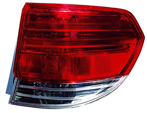 Outer Taillight Taillamp Brake RH Right Passenger Side Rear for 08-10 Odyssey