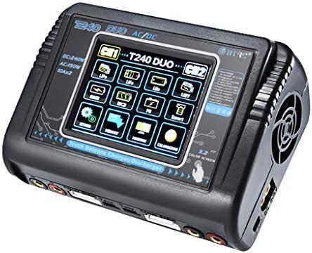 TwoCC Accesorios Drone,Htrc T240 Cargador de Batería de ...