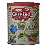 Nestle Cerelac, Rice with Milk, 14.11 Ounce Can