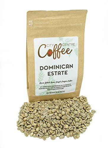 City Centre Coffee-Dominican Estate-Whole Bean Green 16oz