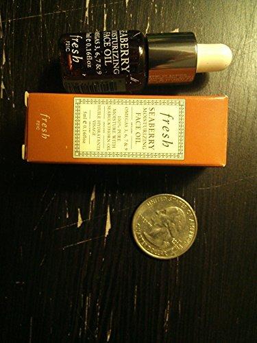 Fresh Seaberry Moisturizing Face Oil 0.16 Ounce (Fresh Cosmetics Seaberry)