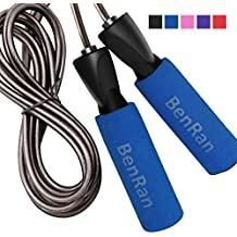 BenRan Jump Rope Adjustable Speed Rope for Cardio Training