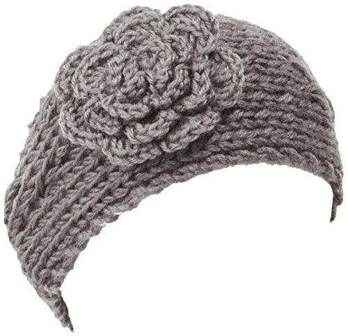 Wrapables Winter Warmth Floral Headband