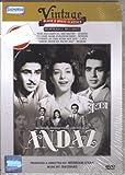 Andaaz (1949) (Starring Dilip Kumar / Raj Kapoor / Nargis / Bollywood Hindi DVD With English Subtitles)