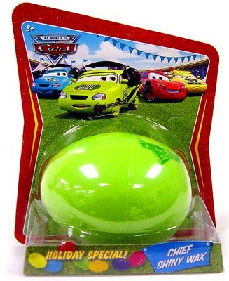 - Disney / Pixar CARS Movie 1:55 Die Cast Car Holiday Special Easter Egg Chief Shiny Wax