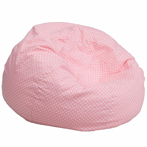 Pastel Metal Chair (Winston Direct Kids Series Oversized Polka Dot Bean Bag Chair - Pastel Pink)