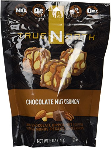 True North Chocolate Nut Crunch, 5 Oz (Pack of 3) -