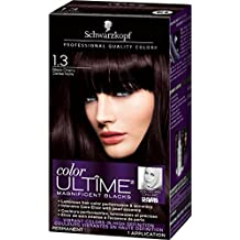 Schwarzkopf Color Ultime Permanent Hair Color Cream, 1.3 Black Cherry, 60 Milliliter (2021489)