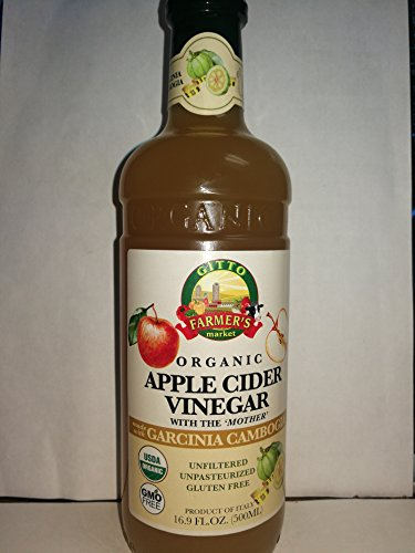 Gitto Organic Apple Cider Vinegar (Garcinia Cambogia) For Sale