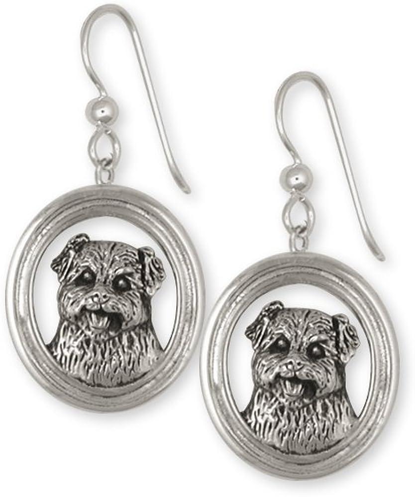 Norfolk Terrier Jewelry Gold Post Earrings