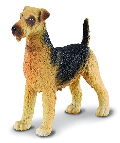 Amazoncom Collecta Airedale Terrier Toys Games