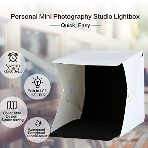 Excelvan CP C001 9 Lightbox Studio Photography Lighting Tent Kit Backdrop Cube Mini Box