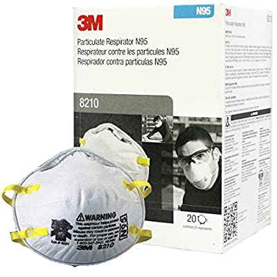 N95 3M Particulate Respirator Mask - 20 Pieces