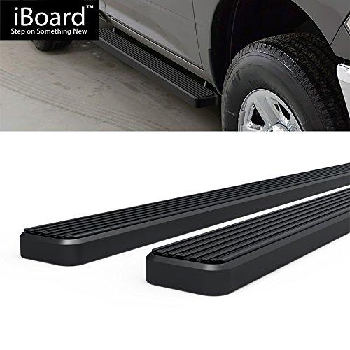 4 Black Eboard Running Boards Nerf Bar   Side Steps Off Roader for 2009-2018 Ram 1500 Regular Cab Pickup 2Dr /& 2010-2018 Ram 2500//3500