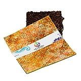 """Java Batiks 10"""" x 10"""" Premium Batik Squares Layer Cake Pack of 20"""