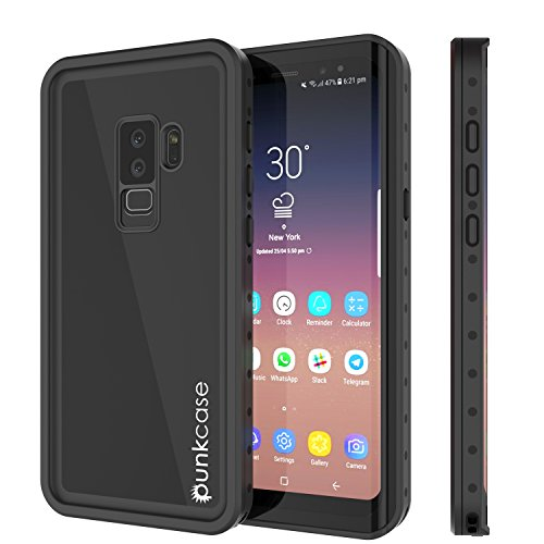 Galaxy S9 PLUS Waterproof Case, Punkcase [StudStar Series] [Slim Fit] [IP68 Certified] [Shockproof] [Dirtproof] [Snowproof] Armor Cover for Samsung Galaxy S9+