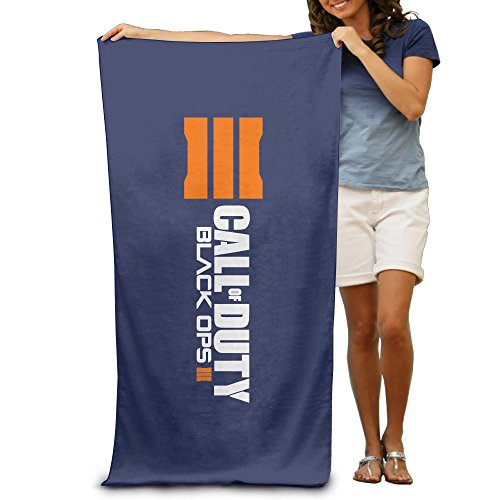 Tale Of Despereaux Costume (LCYC Call Of Duty Black Ops 3 Logo Adult Colorful Beach Or Pool Bath Towel 80cm*130cm)