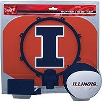 Rawlings NCAA Illinois Illini Slam Dunk Softee Hoop Set