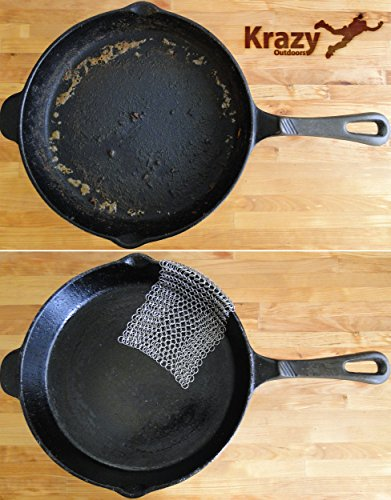 how to clean stainless steel pans outside
