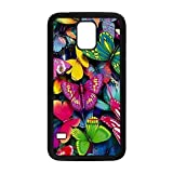 ka ka case unique Individuality Buterfly Protective Hard PC Snap On Case for Samsung Galaxy S5-2032
