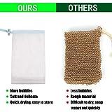 Cobahom Soap Bag 6 Pack 6 x 3.5 Inch Mesh Foaming