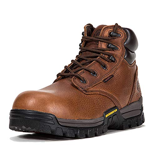 ROCKROOSTER Mens Work Boots, 6